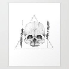 The Graveyard Club Art Print