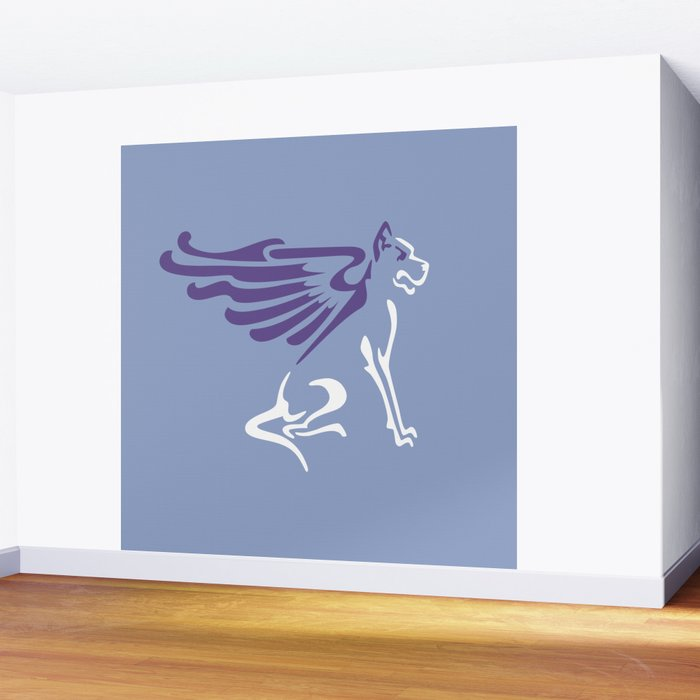 Myths & Monsters: Winged dog Wall Mural