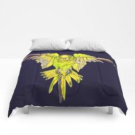 Flying Australian Budgie Bird Parakeet Comforters