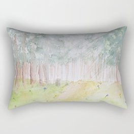 Walk Through the Woods Rectangular Pillow