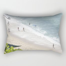 Bathers Rectangular Pillow