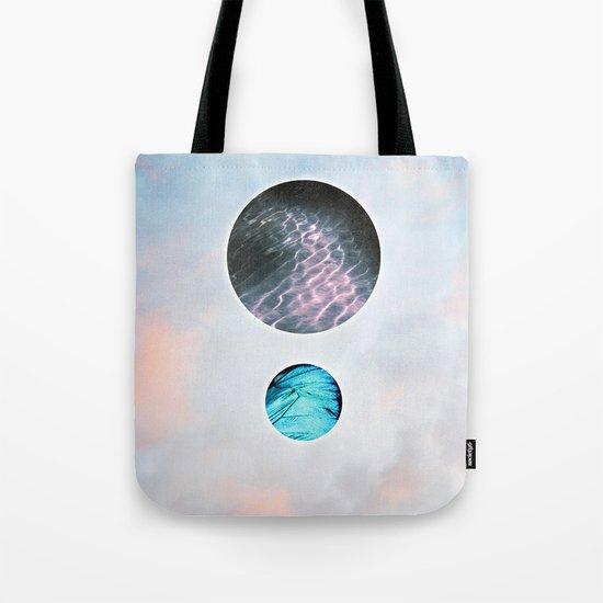 Shimmer Tote Bag