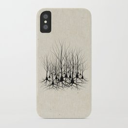 Pyramidal Neuron Forest iPhone Case