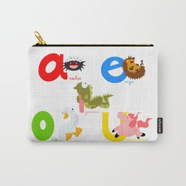 Vowels (spanish) Carry-All Pouch