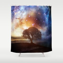 Wish You Were Here (Chapter III) Shower Curtain