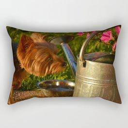 Bella & Flowers Rectangular Pillow