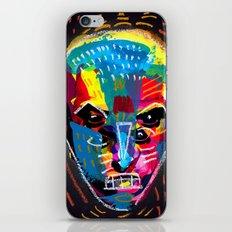 head 001 iPhone & iPod Skin