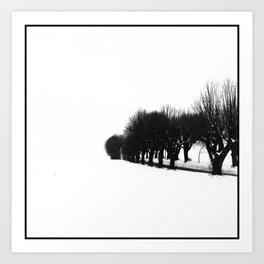 Road to Grosshennersdorf Art Print