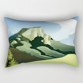 Taratara - Whangaroa's Sacred Place Rectangular Pillow