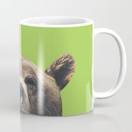 Bear - Green Coffee Mug