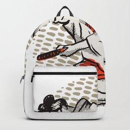 Samurai Harakiri Japan Art Backpack