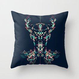 Space Viking Throw Pillow