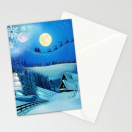 Winter Holiday Around the World Stationery Cards