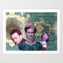 the three muskateers  Art Print
