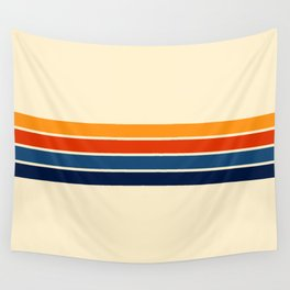 Classic Retro Stripes Wall Tapestry