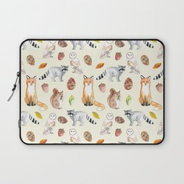 Woodland Critters Laptop Sleeve