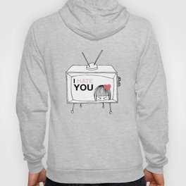 I Hate You / Television Hoody