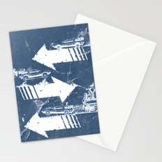 Back to the Future Minimalist Poster Stationery Cards