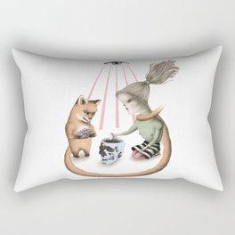 The Fitcher's bird six Rectangular Pillow