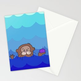 Otterly Delightful Stationery Cards