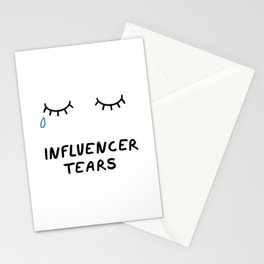 Influencer Tears Stationery Cards