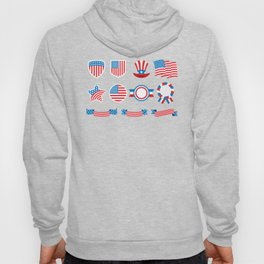 Proud To Be American National Presidents Day Hoody