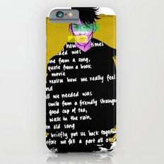 Textures & Words iPhone 6s Slim Case