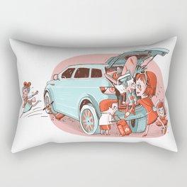 Busy Mother Rectangular Pillow