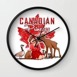 Canadian Princss Wall Clock