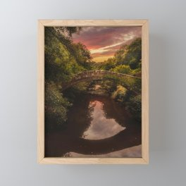 Beggars Bridge Framed Mini Art Print