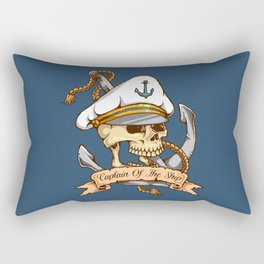 Captain of the Ship Rectangular Pillow