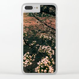 Spring Bloom Clear iPhone Case