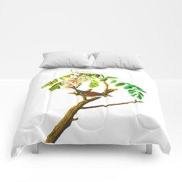 Chipping sparrow John James Audubon Vintage Scientific Bird illustration Comforters