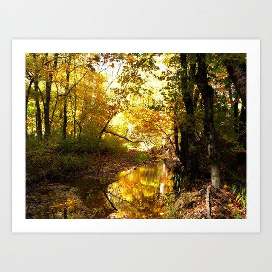 Fall afternoon II Art Print