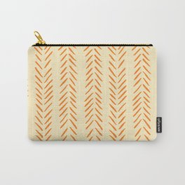 Herringbone Pattern in Autumn Colors Carry-All Pouch