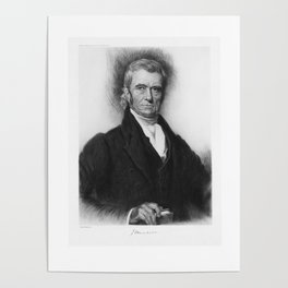 John Marshall - Founding Father and Chief Justice Poster