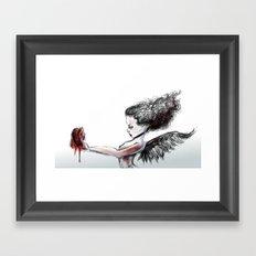 The Heart Theif Framed Art Print