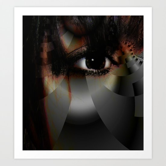 Window to the Soul Art Print