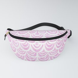Watercolor Mermaid Fairytale Pink Fanny Pack