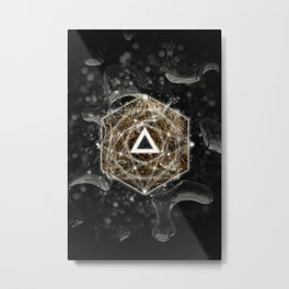 The Secret Metal Print
