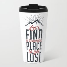 FIND A PLACE Travel Mug