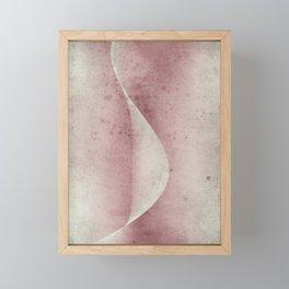 Flesh Wave Framed Mini Art Print