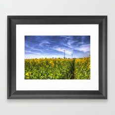 The Summer  English Field Framed Art Print