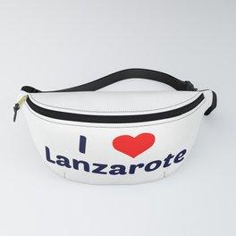I Love Lanzarote Fanny Pack