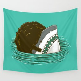 The 70's Shark Wall Tapestry