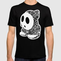 ShyGuy #CrackedOutBadGuys Black X-LARGE Mens Fitted Tee