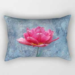 Pink Tulip Rectangular Pillow