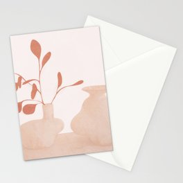 Minimal Branches and Vases Stationery Cards