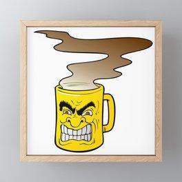 Fierce Coffee Framed Mini Art Print