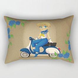 Retro Sailor Uranus Rectangular Pillow